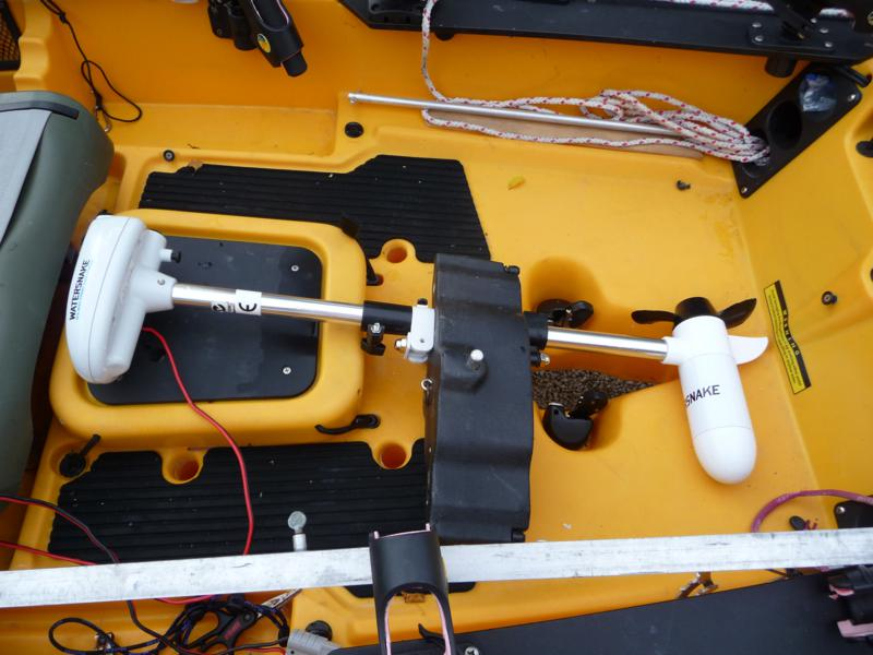 Hobie Forums View Topic Trolling Motor Location Question